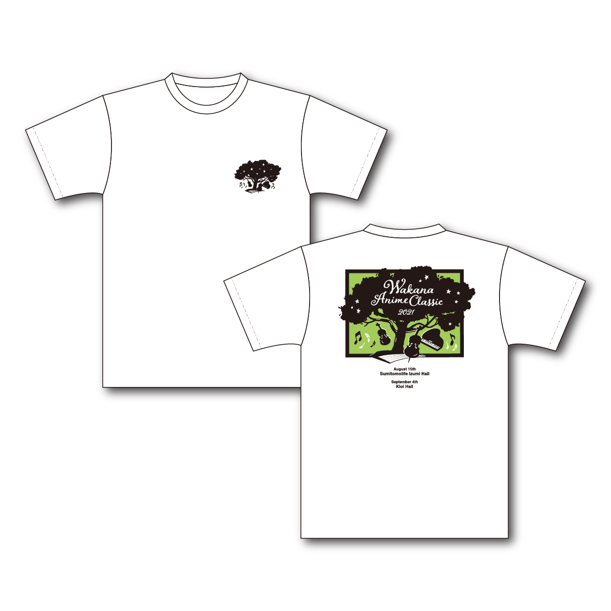 「Wakana Anime Classic 2021」Tシャツ・ホワイト