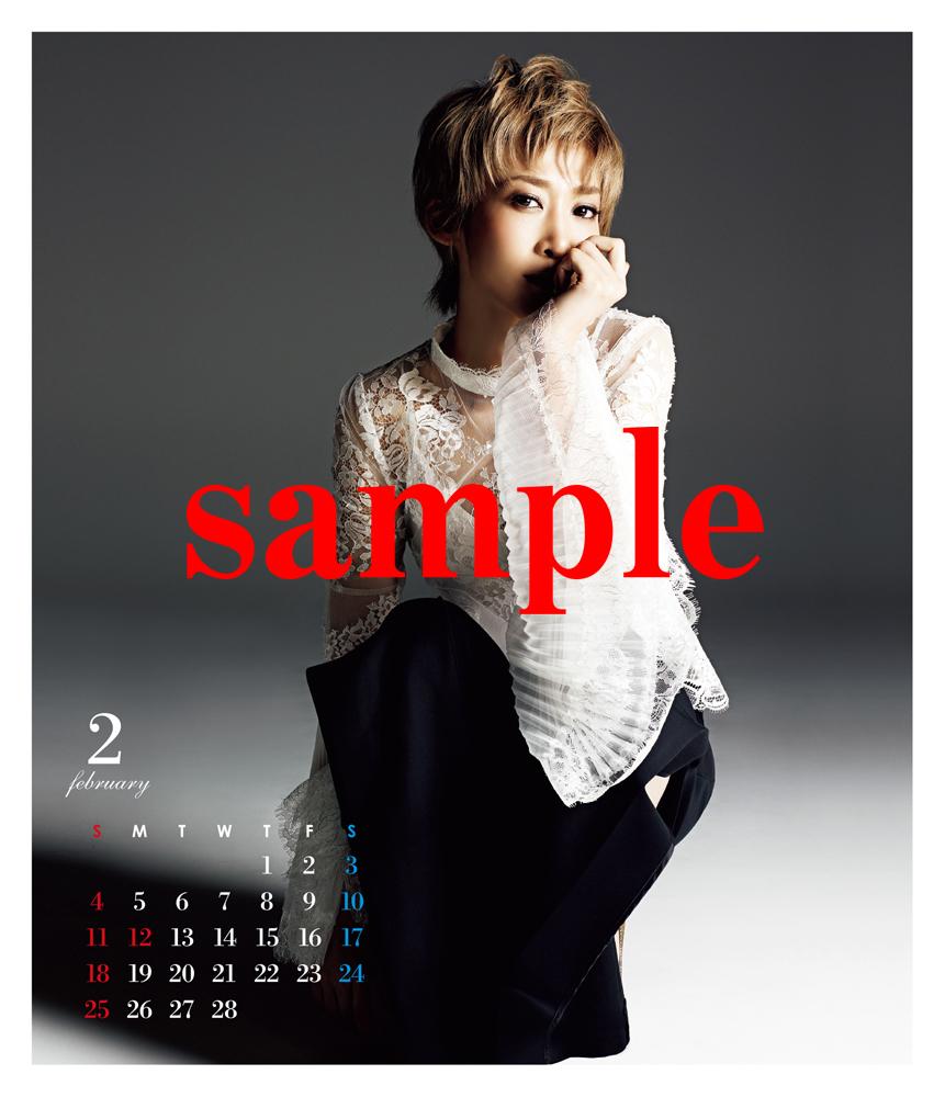 龍 真咲 卓上カレンダー(2017年4月始まり)