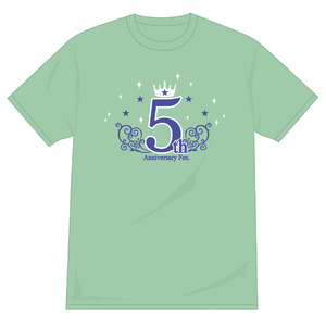 """""""5th Anniversary Fes.""""♡with you♡めいんTシャツ"""
