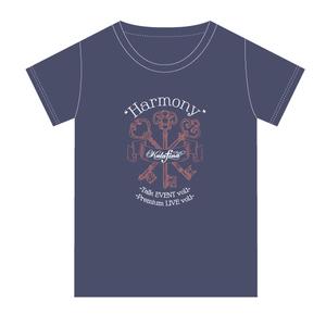 """""""Harmony""""EVENT vol.1 Tシャツ ネイビー"""