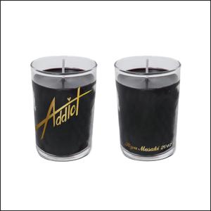 「Addict」アロマキャンドル(ゼラニウムの香り)