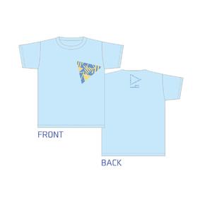 "「""Hikaru""Birthday EVENT 2018」Tシャツ・ブルー"