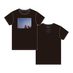 「Wakana Live Tour 2018」Tシャツ・黒 「夕暮れ時の空」