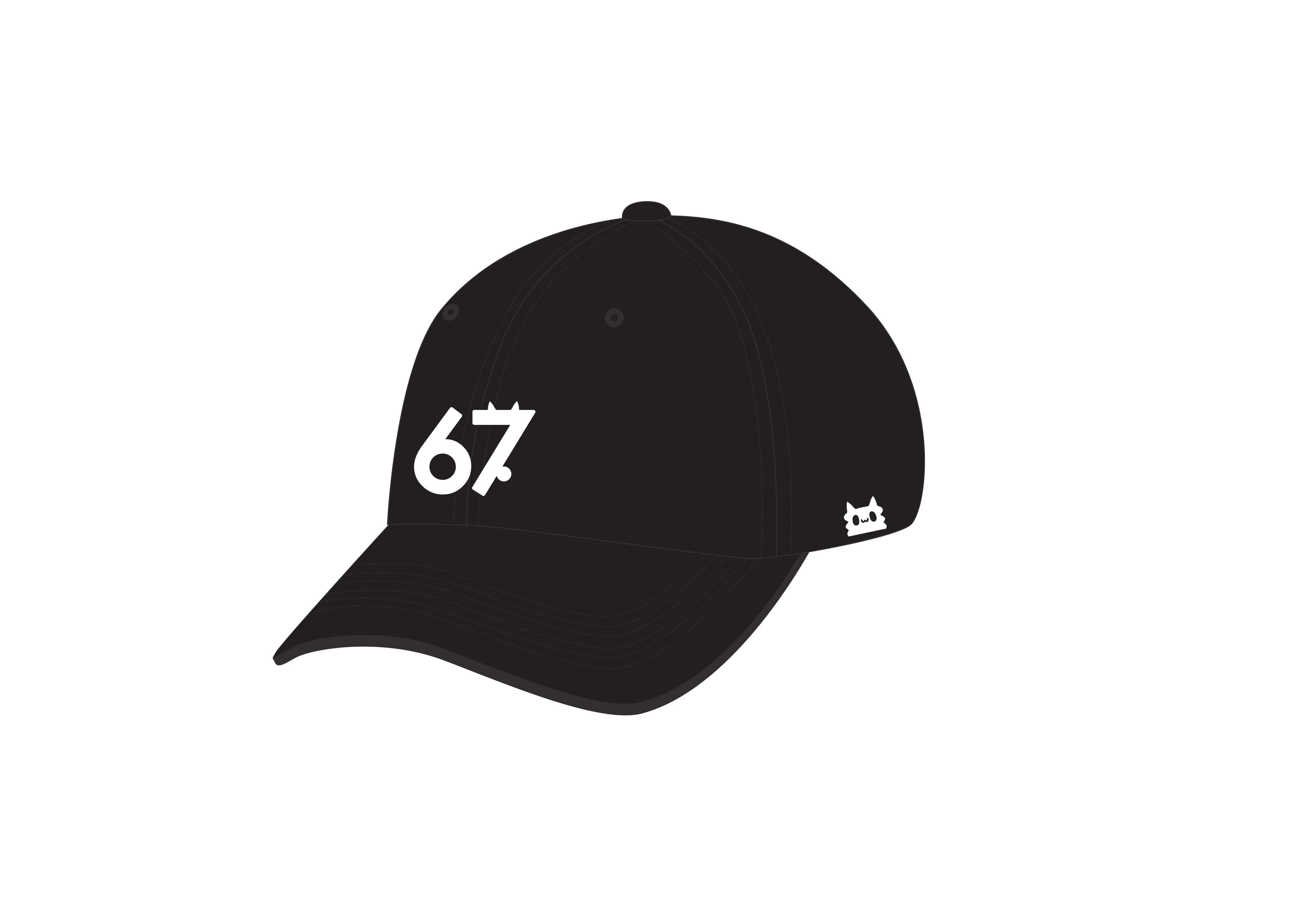 67(るな)キャップ