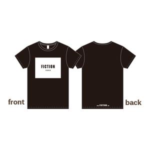 Fiction やねん! Tシャツ・ブラック