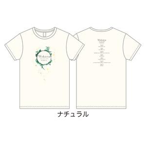 「Wakana LIVE TOUR 2019」Tシャツ・ライブロゴ ver. ナチュラル