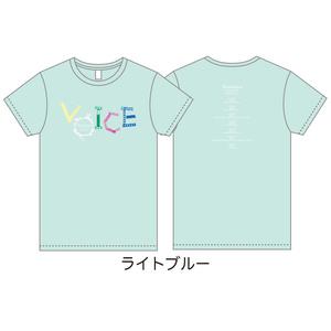 「Wakana LIVE TOUR 2019」Tシャツ・VOICE ver. ライトブルー