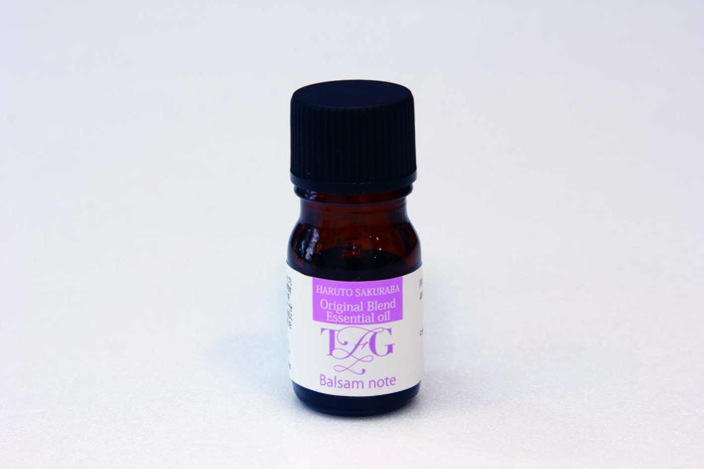 ⑥Haruto Sakuraba<Balsam note>オリジナルブレンドエッセンシャルオイル