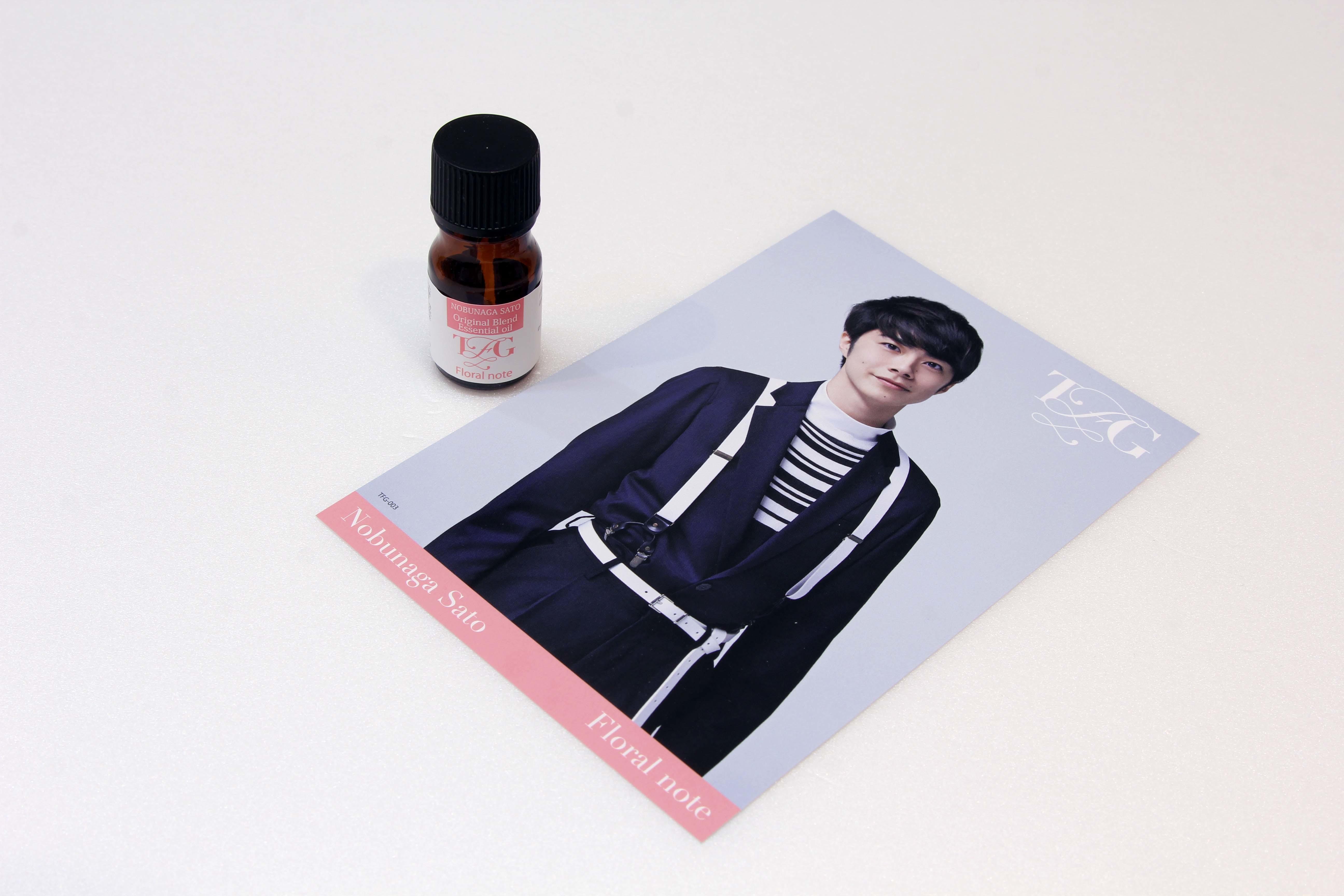③Nobunaga Sato<Floral note>オリジナルブレンドエッセンシャルオイル