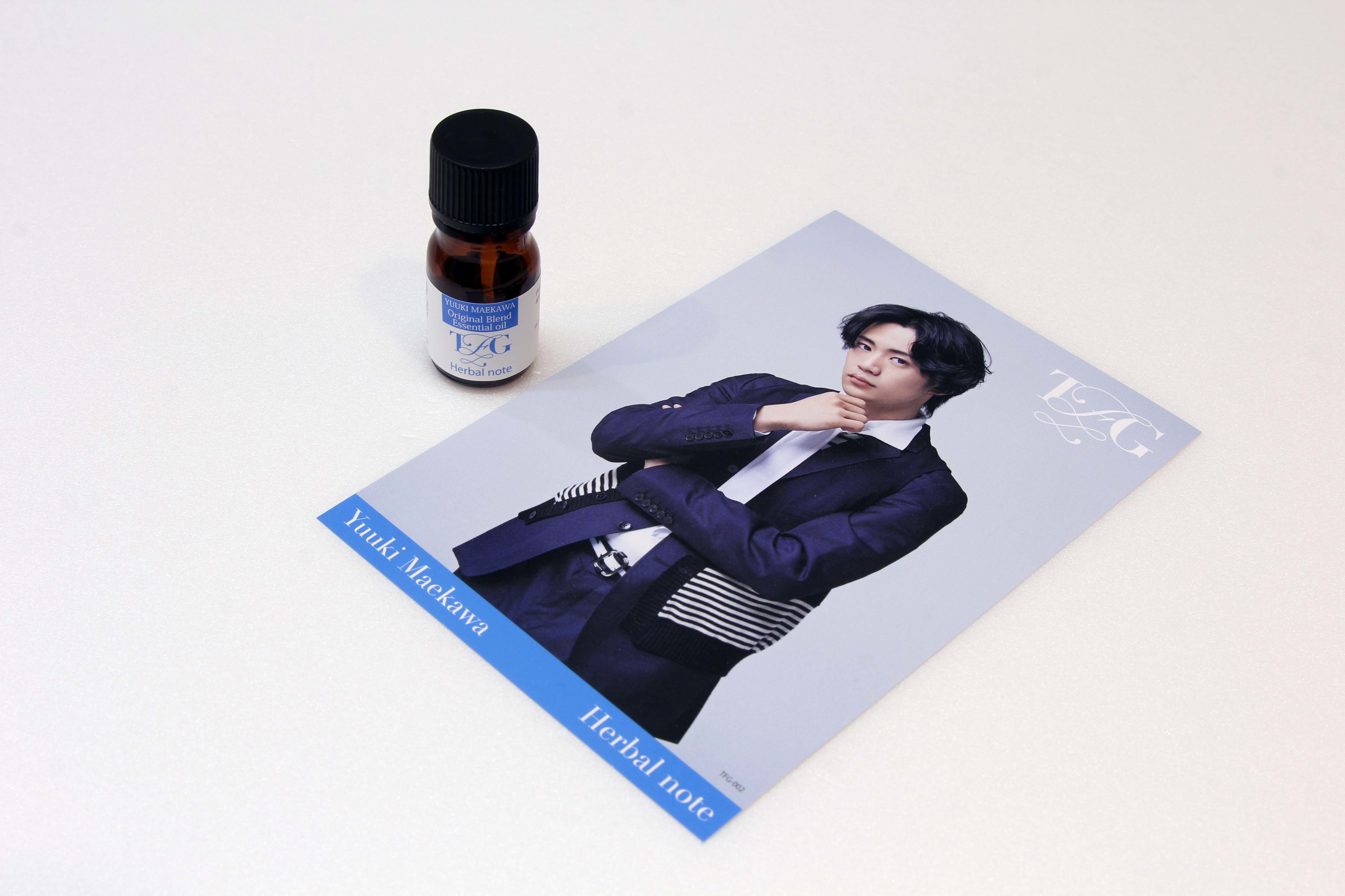 ②Yuuki Maekawa<Herbal note>オリジナルブレンドエッセンシャルオイル