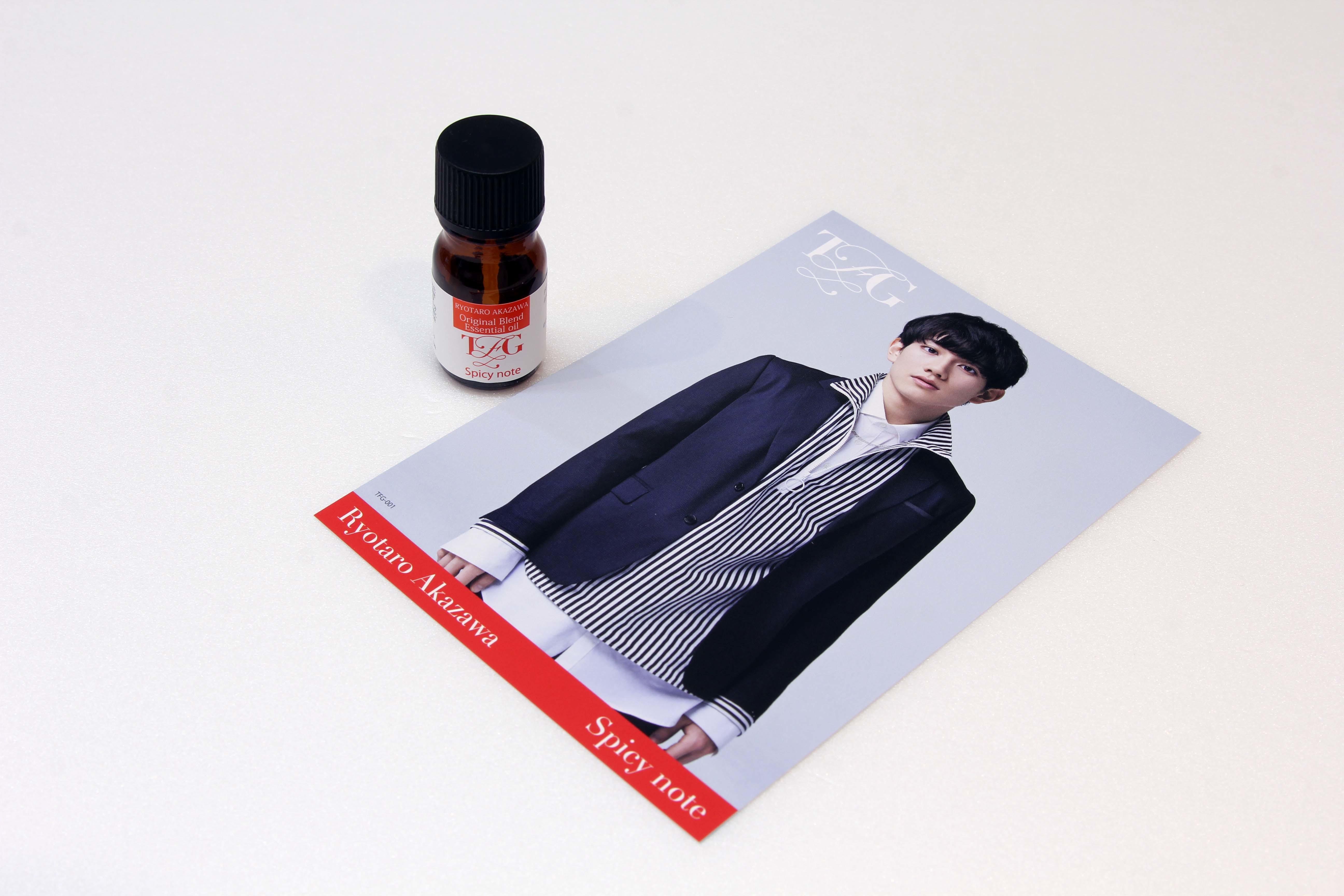 ①Ryotaro Akazawa<Spicy note>オリジナルブレンドエッセンシャルオイル
