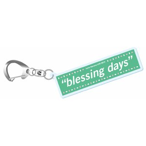 """blessing days""アクリルキーホルダー"