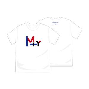 「前川優希22nd Birthday Event」M+Y Tシャツ(缶バッジ特典付)