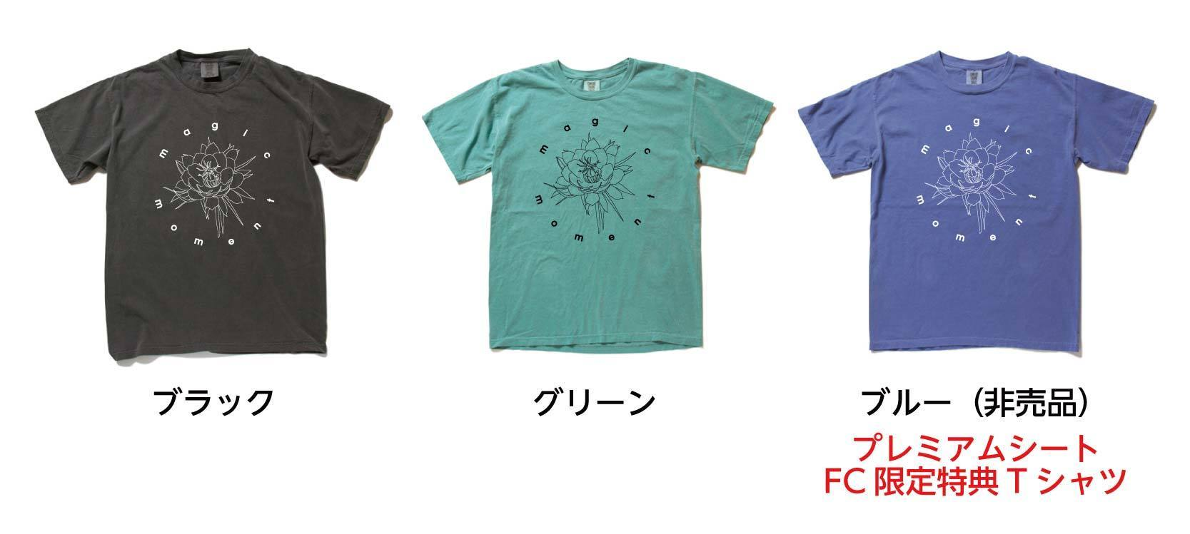 「Wakana Spring Live 2020 ~magic moment~」Tシャツ グリーン