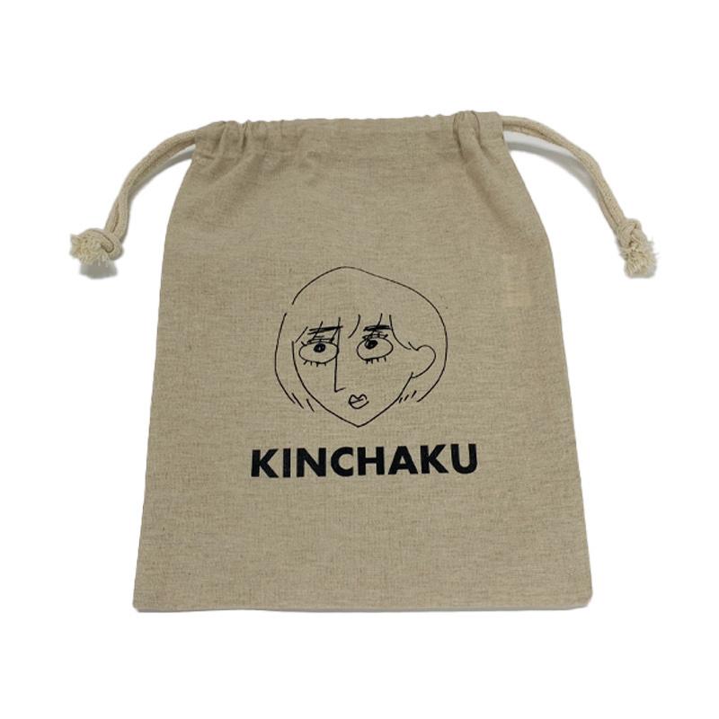 「KINCHAKU」巾着