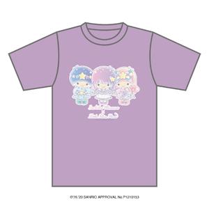 「三澤紗千香×Little Twin Stars」Tシャツ