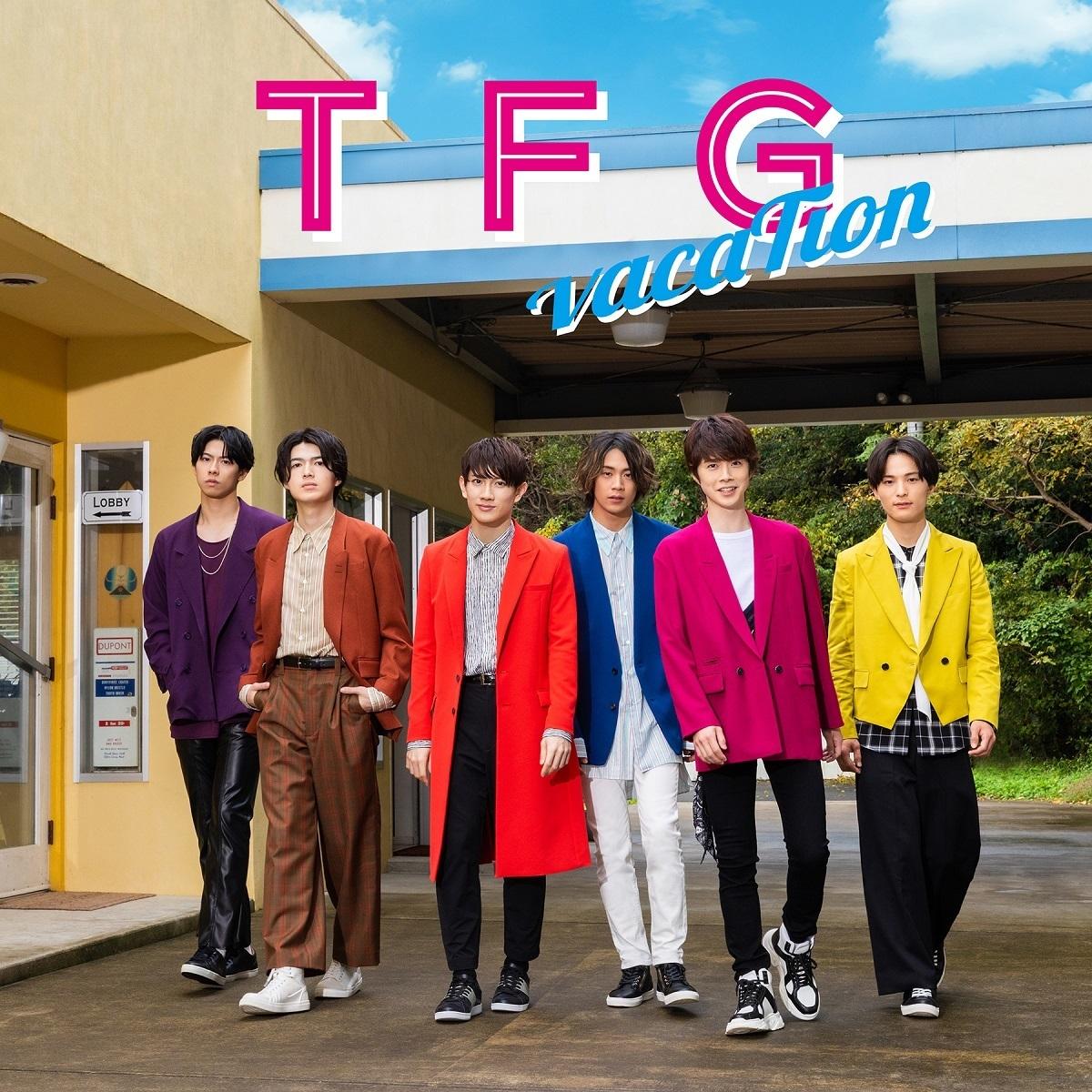 【FC限定】【通常盤】TFG 2ndアルバム「vacaTion」