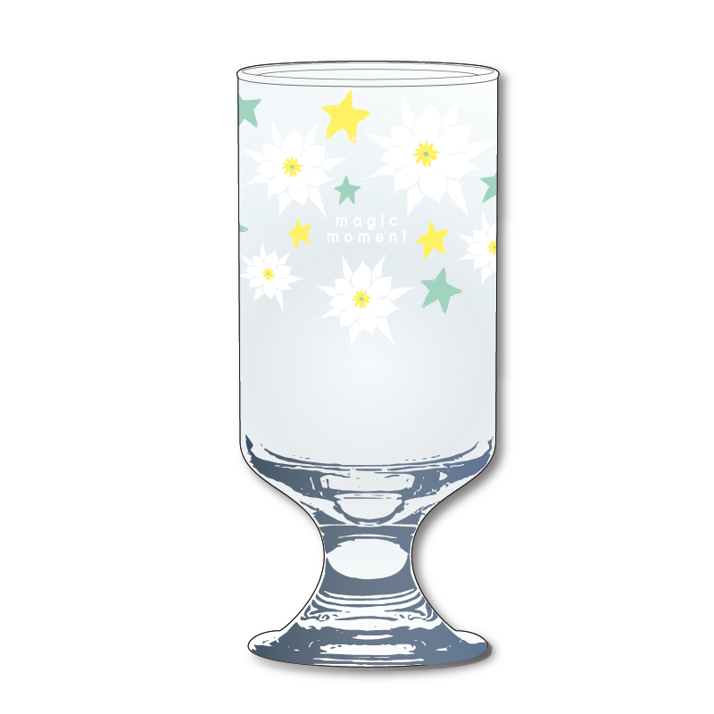 「Wakana Spring Live 2020 ~magic moment~」月下美人で乾杯!グラス
