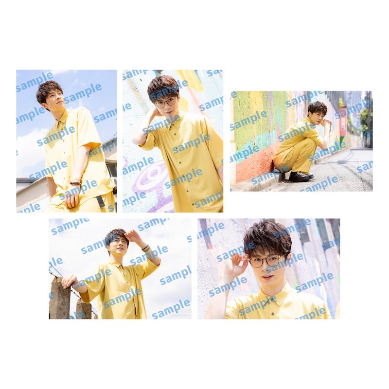 「佐藤信長1st Fanmeeting」ブロマイドセットB