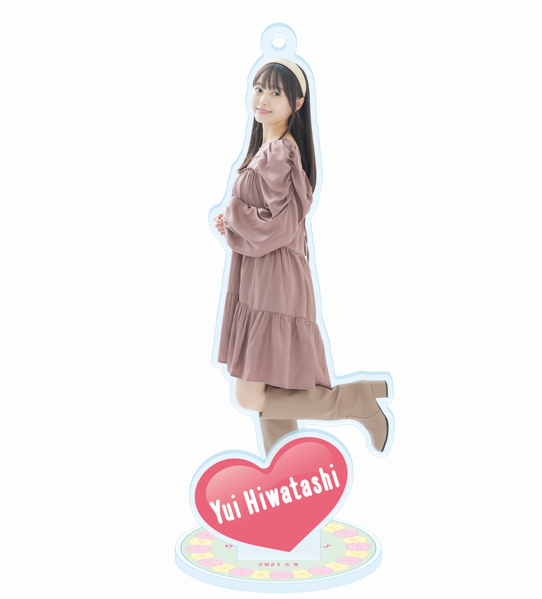 アクリルスタンドキーホルダー (ひーわたんといっしょ♪21st birthday ver.)