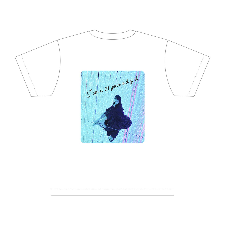 【会員限定】生誕Tシャツ(21歳ver.) ホワイト